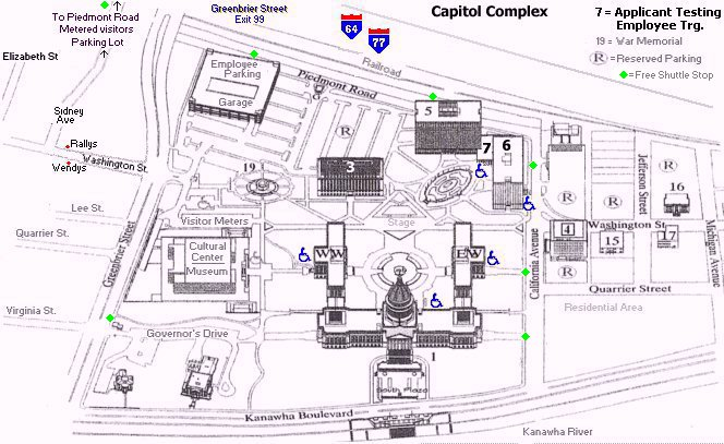 Capitol Complex Maplarger Image - Map of us capitol building